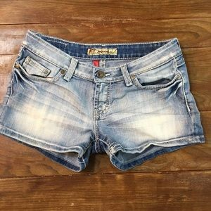 BKE Madison Denim Blue Jean Shorts